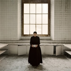 Marina Abramović The Kitchen V, Carrying the Milk From the series The Kitchen, Homage to Saint Therese Video installation, color 2009 © Marina Abramović Courtesy of the Marina Abramovic Archives