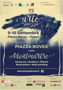 """Il 9 e 10 settembre """"Arte in piazza"""" trasforma Piazza Boves in Montmartre"""