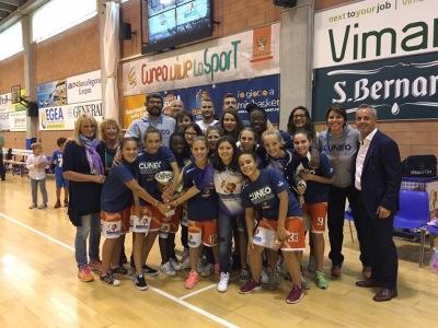 La squadra Granda College Under 14 femminile  vince il torneo Memorial Ornella Bono 2017